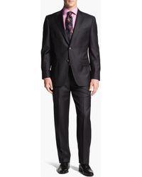 Joseph Abboud - 'signature Silver' Wool Suit - Lyst
