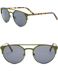 Timberland - Polarized 54mm Round Sunglasses - Lyst
