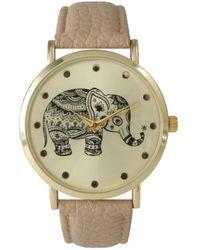 Olivia Pratt - Women's Boho Elephant Quartz Watch - Lyst