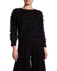 Yoana Baraschi - Brasserie Ruffle Sweater - Lyst