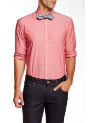 Moods Of Norway - Kristian Vik Jacquard Dot Long Sleeve Shirt - Lyst