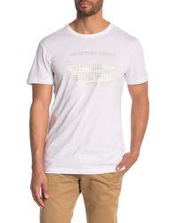 e6027f5d26da G-Star RAW Camouflage Logo-print T-shirt in Orange for Men - Lyst