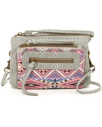 T-Shirt & Jeans - Printed Convertible Wristlet - Lyst