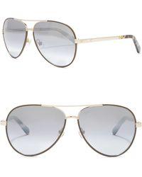 Kate Spade - Amarissa 59mm Aviator Sunglasses - Lyst