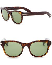 66c47c6638a9 Lyst - Tom Ford 52mm Square Sunglasses for Men