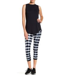 Warrior by Danica Patrick Active - Stripe Back Leggings - Lyst