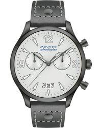 Movado - Women's Heritage Swiss Quartz Watch, 38mm - Lyst