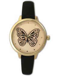 Olivia Pratt - Women's Butterfly Quartz Watch - Lyst
