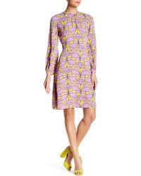 Orla Kiely - Flower Explosion Sleeveless Dress - Lyst