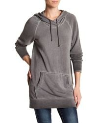Heather by Bordeaux - Long Sleeve Oversized Hoodie - Lyst