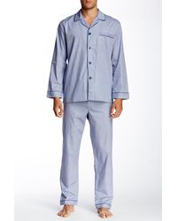 Majestic Filatures - Long Sleeve Piped Pyjama Set - Lyst