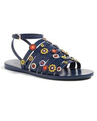 Tory Burch - Marguerite Sandal - Lyst