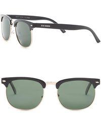 Steve Madden - Women's Polarized Clubmaster Sunglasses - Lyst