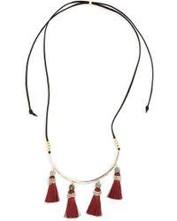 Panacea - Tassel Necklace - Lyst