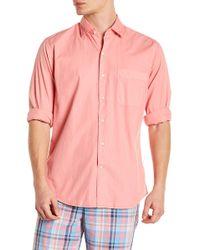 Peter Millar - Washed Regular Fit Shirt - Lyst