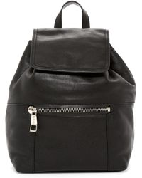 Sorial - Talia Pebbled Leather Backpack - Lyst