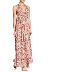 O'neill Sportswear - Dolley Halter Neck Maxi Dress - Lyst