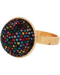 Trina Turk - Multicolor Round Statement Ring - Size 7 - Lyst