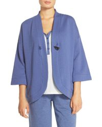 Carole Hochman - Quilted Wrap Robe - Lyst