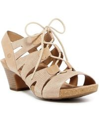 Josef Seibel | Ruth Lace-up Sandal | Lyst