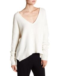 Six Crisp Days - Oversized Textured Knit Sweater - Lyst