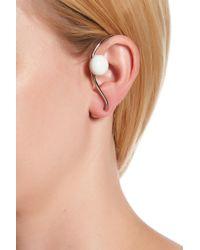 Paige Novick - Double Sphere Swirl Ear Cuff - Lyst