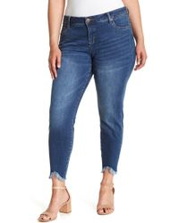 Kut From The Kloth - Carlo Ankle Skinny Jeans (plus Size) - Lyst
