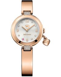 Juicy Couture   Women's Sienna Crystal Bangle Watch   Lyst