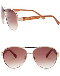 a9ff9337975c Vince Camuto - 58mm Aviator Sunglasses - Lyst