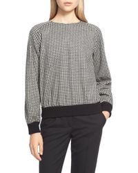 Weekend by Maxmara - 'denny' Wool Jersey Sweatshirt - Lyst