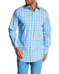 Peter Millar - Plaid Long Sleeve Shirt - Lyst