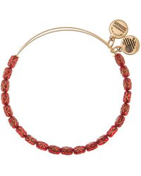 ALEX AND ANI - Starlight Crimson Expandable Bangle - Lyst