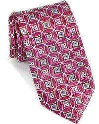 John W. Nordstrom - Strode Medallion Woven Silk Tie - Lyst