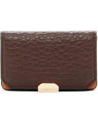 Lodis - Borrego Mini Leather Card Case - Lyst