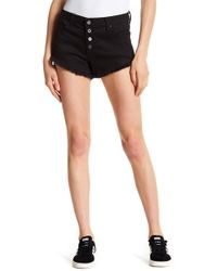 Tractr - Frayed Exposed Placket Shorts - Lyst