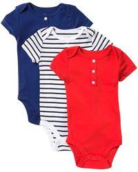 e7e39589b1 Joe Fresh - Bodysuit - Pack Of 3 (baby Boys) - Lyst