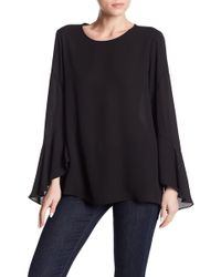 Vince Camuto - Flared Sleeve Blouse - Lyst