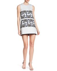 Cynthia Rowley - Embroidered Shift Dress - Lyst