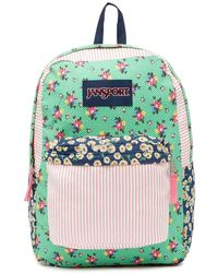 Jansport - High Stakes - Ditzy Patchwork Backpack - Lyst