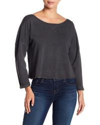 Lucky Brand - Back Tie Pullover - Lyst