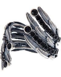 Marc Jacobs - Dark Plumes Statement Ring - Size 7 - Lyst