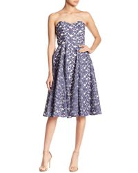 Paper Crown - Assisi Floral Embroidered Dress - Lyst