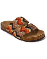 Mata Shoes - Summer Pattern Flat Sandal - Lyst