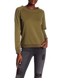 Etienne Marcel - Crew Neck Cotton Sweater - Lyst