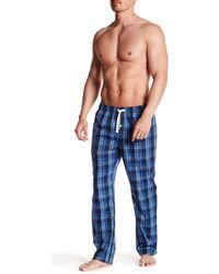 Joe Fresh - Plaid Print Pajama Pants - Lyst