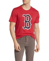 f78e40914 Tailgate Men's Boston Red Sox T-shirt in White for Men - Lyst
