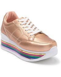 33adc2e1be Cape Robbin Can I Kick It Platform Sneaker - Lyst