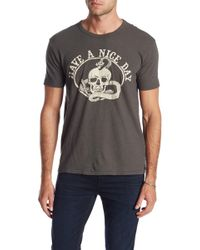 Lucky Brand - Have A Nice Day Short Sleeve Tee - Lyst