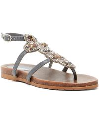 Kenneth Cole Reaction - Chase Me Beaded Sandal - Lyst