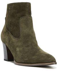 Sarto - 'echelon' Block Heel Bootie (women) - Lyst